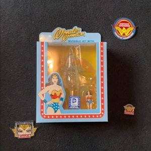 Wonder Woman and Invisible Jet Action Figure